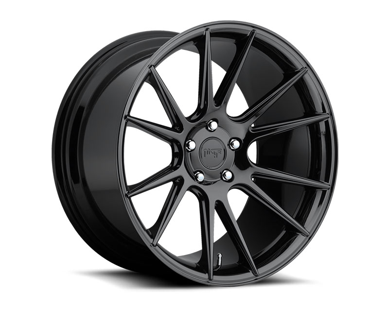 Niche Vicenza M154 Black Chrome Wheel 20x10.5 5x120 +20mm - M154200521+20
