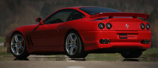 Novitec Black Tail Lights Ferrari 550/575 Maranello 96-06