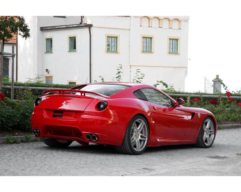 Novitec Rear Skirt Ferrari 599 06-11 - F6 599 02