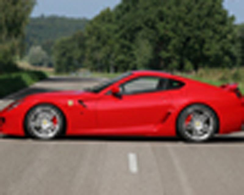 Novitec Add-on Skirts for Side Skirt Panels Ferrari 599 06