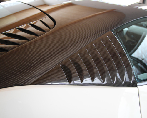 Novitec Carbon Roof and Engine Lid Ferrari 458 Italia 10-13