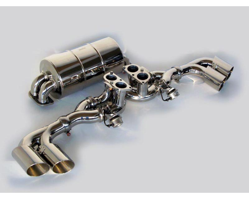 Novitec Stainless Steel Exhaust System With Flap Regulation Ferrari Scuderia F430 04-09 - F1 430 28