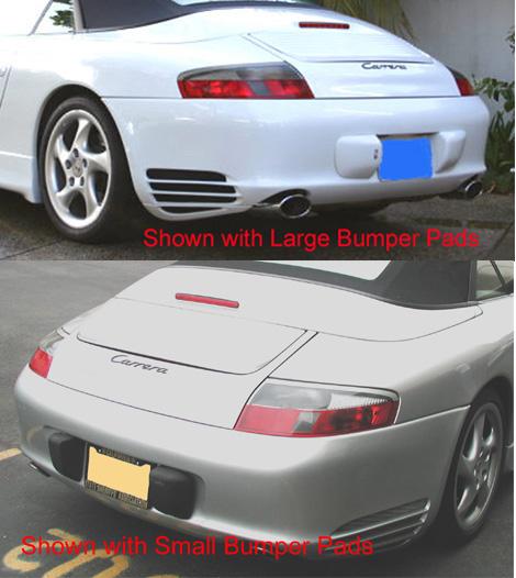 NR Auto Turbo Style Rear Bumper Porsche 996 99-04