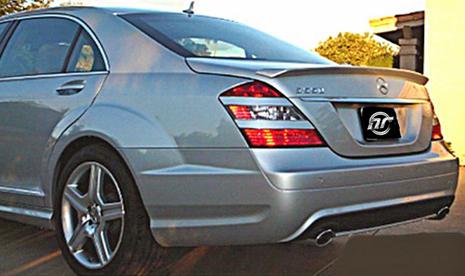 NR Auto L Style Trunk Lip Spoiler Mercedes-Benz S550 221 06-08