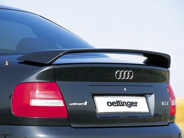 oettinger rear deck lid spoiler w brake light audi s4 b5. Black Bedroom Furniture Sets. Home Design Ideas