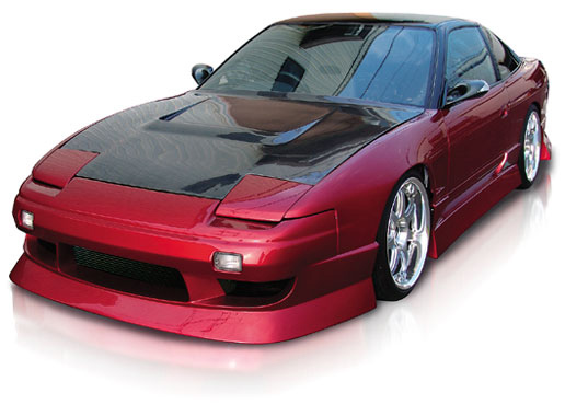 Origin Aggressive Full Body Kit Nissan 180SX - D2-FKT