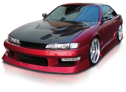Origin Aggressive Side Skirts Nissan 240SX S14 97-98