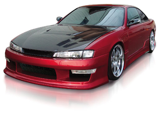 Origin Stylish Full Body Kit Nissan 240SX S14 97-98 - D9-FKT