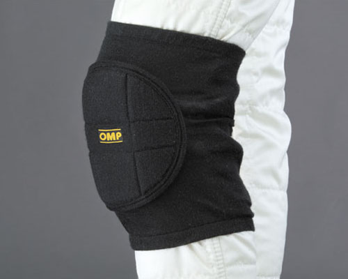 OMP Nomex Knee Pads Black | One Size - ID/790071