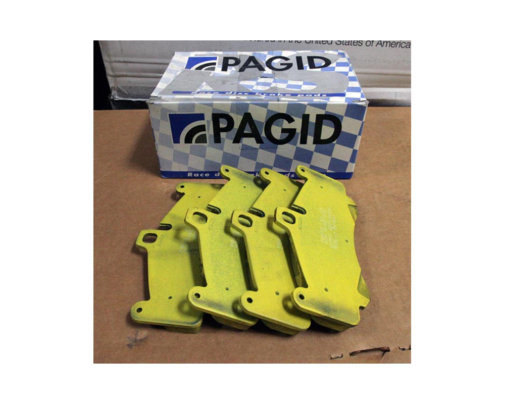 Pagid RS 19 Yellow Rear Brake Pads Porsche 997 Turbo 07-12 - PAG-8006-RS19
