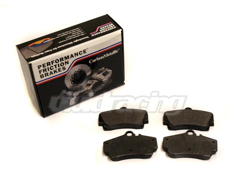 Performance Friction Rear Carbon Metallic Race Brake Pads Porsche Boxster S 96-04 - 0738.97.16.44