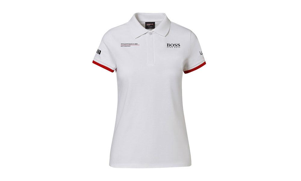 Porsche Motorsport Womens Gray Polo