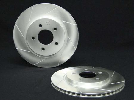 Power Slot Front Right Cryogenic Slotted Rotors Chevrolet Suburban 1500 07-08 - 126.66057CSR