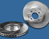Power Slot Front Right Cryogenic Slotted Rotors Nissan Titan 04-05