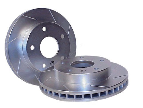 Power Slot Front Right Slotted Rotor Chevrolet Corvette Grand Sport 10-13 | Z06 06-13 - 126.62102SR