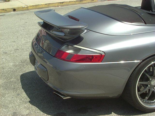 Precision Porsche GT3 Style Spoiler Porsche 996 Cab 99-04 - PP-996C-GT3WG