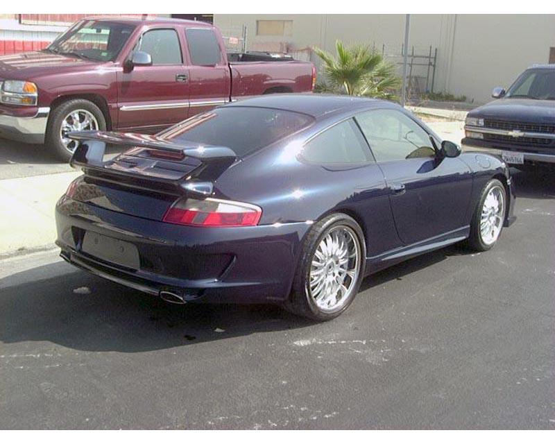 Precision Porsche 08 GT3 Style Rear Bumper Porsche 996 99-04