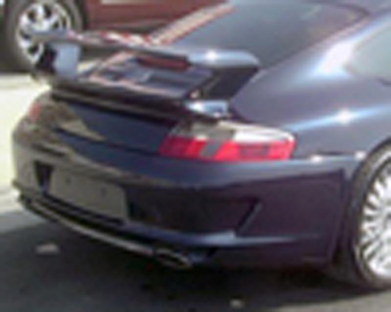 Image of Precision Porsche 08 GT3 Style Rear Bumper Porsche 996 99-04