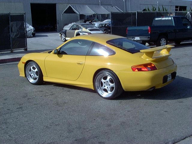 Precision Porsche GT3 Style Rear Wing Porsche 996 C2/C4 99-04