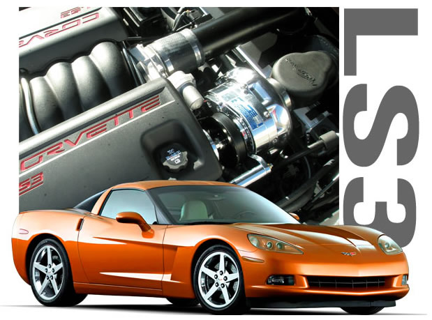 ProCharger H.O. Intercooled Supercharger System Chevrolet Corvette C6 08-09 - 1GQ202-SCI
