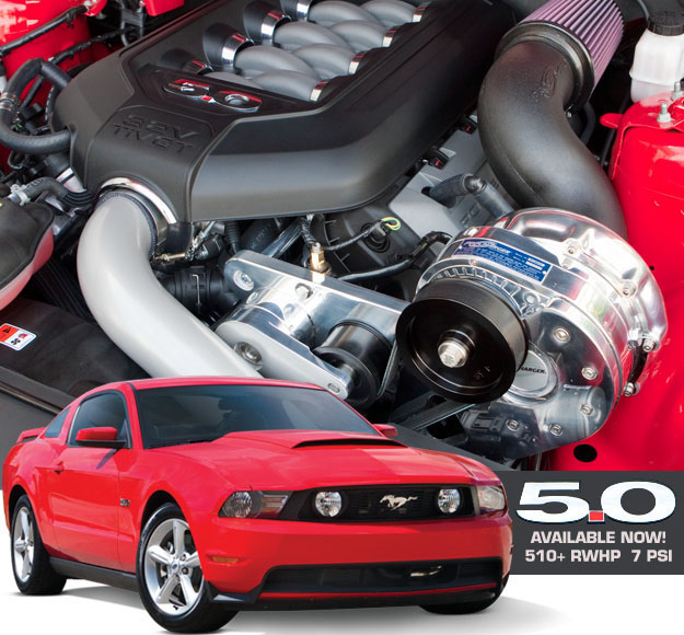 ProCharger High Output Intercooled Supercharger System Ford Mustang GT 5.0L 11-14 - 1FR214-SCI