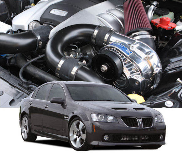 ProCharger High Output Intercooled Supercharger System Pontiac G8 GT 08-09 - 1GS212-SCI