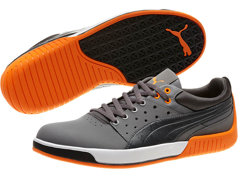 Image of Puma Global Rallycross GRC Street Low Steel Gray Shoes