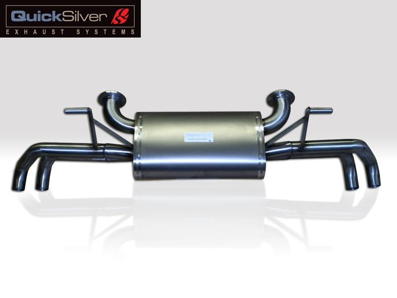 Quicksilver Titan Sport System Exhaust Audi R8 V10 09-13 - AU810T