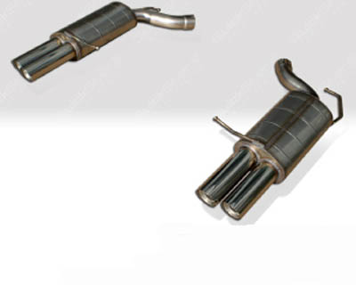 Quicksilver Sport Stainless Steel Rear Section Exhaust BMW M6 05-19 - BM664S