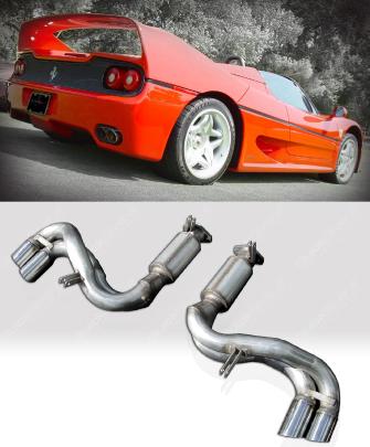 Quicksilver SuperSport Stainless Steel Exhaust System Ferrari F50 95-97 - FE070S