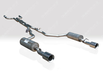 Quicksilver Sport Stainless Steel Exhaust System Jaguar XJR | SV8 4.2L SuperCharged 03-09 - JR420S