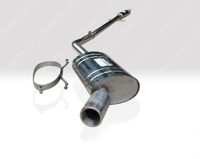 Quicksilver Sport Stainless Steel Exhaust System Mini One   Cooper Convertible R52 04-07 - BM139S