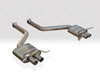 Quicksilver Sport Titanium Rear Section Bentley Continental SuperSport 09-12