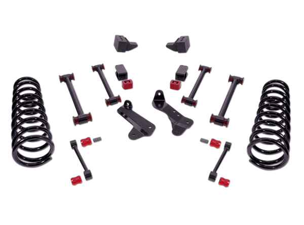 Rancho Suspension System 4in- 2.5in Lift Black Finish Dodge Ram 2500 Diesel 06-07 - RS6579B