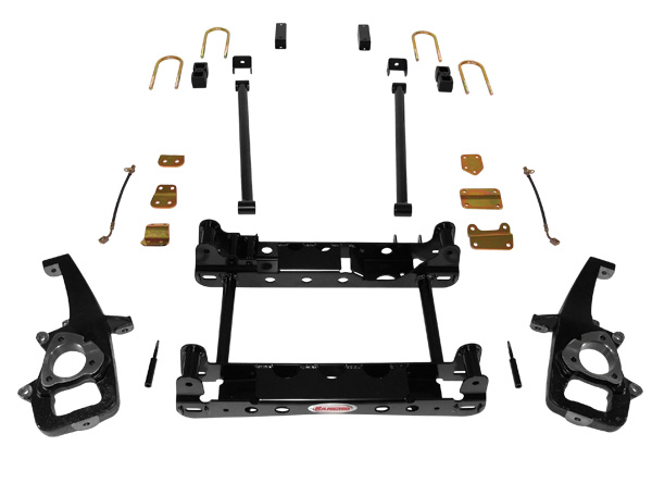 Rancho Suspension System 4in- 2.5in Lift Dodge Ram 1500 06-07 - RS6581