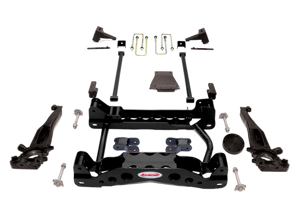 Rancho Suspension System 4in-2.5in Lift Ford F-150 04-07 - RS6589