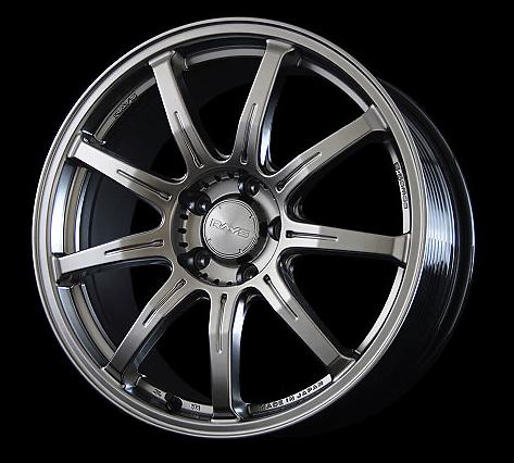 Rays Shining Silver G-Games SOG Wheel 18x8.5 5x114.3 33mm - RAYSSOG-1885-5114333