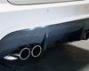 Image of RD Sport Carbon Fiber Rear Apron Diffuser BMW E92 08-11