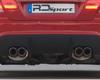 Image of RD Sport Carbon Fiber Rear Quad Pipes Diffuser BMW E92 08-11