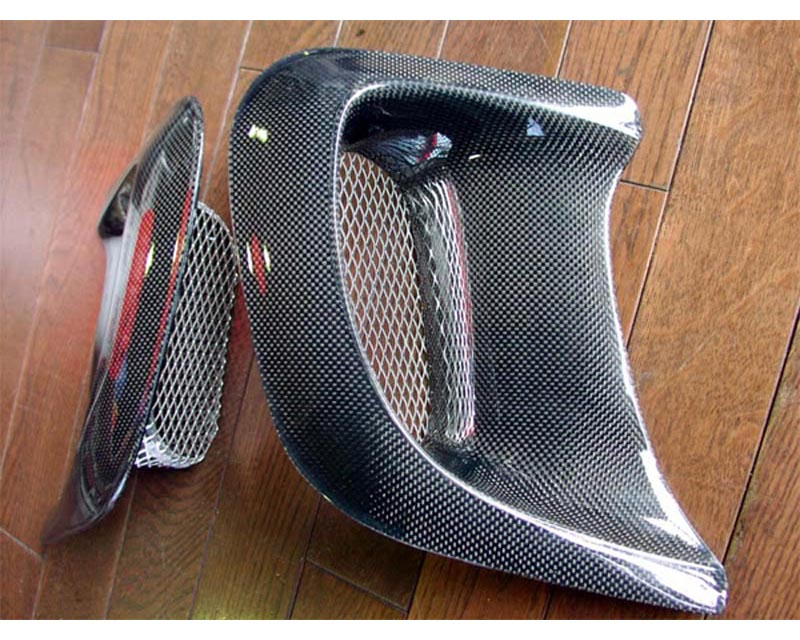 RE-Amemiya FD3S Fender Air Big Outlet Carbon Mazda RX-7 93-02