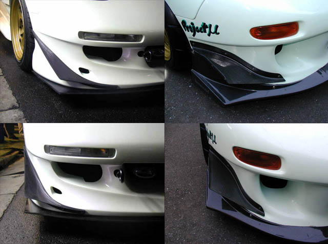 RE-Amemiya FD3S Carbon Canards Mazda RX-7 93-02