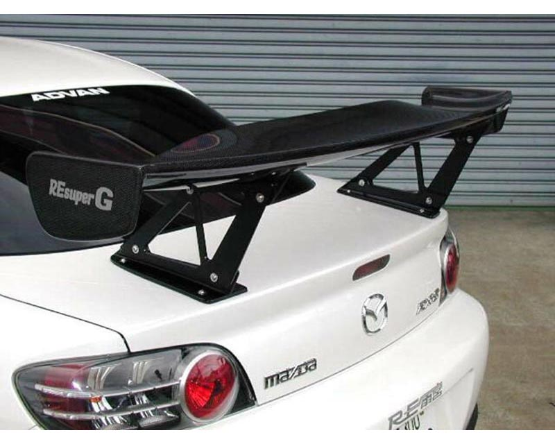 RE-Amemiya SE3P Fiberglass Rear Wing Mazda RX-8 03-11