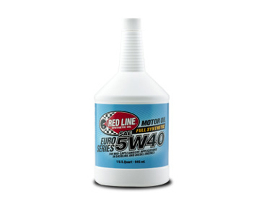Image of Red Line Euro-Series 5W40 Motor Oil - 121 Quart