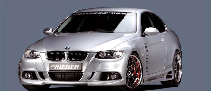 Rieger Front Bumper w/ Parktronic BMW E92 & E93 07-11 - R 53433