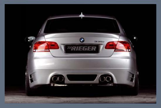 Rieger Rear Skirt w/ Mesh BMW E92 & E93 335 07-11 - R 53437
