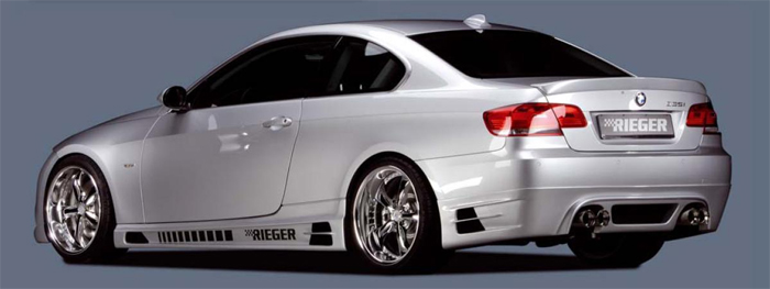 Rieger Side Skirts w/ 2 Intakes BMW E92 & E93 07-11 - R 53435-36