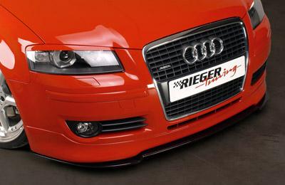 Rieger Front Lip Spoiler Audi A3 8P Sportback 05-08 - R 56739