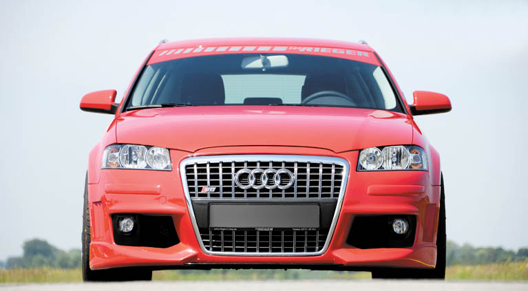 Rieger S8 Front Grill for Front Bumper Audi A3 Type 8P Sportback 05-08 - A 211249