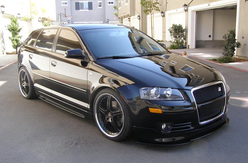 Rieger Complete Body Kit Audi A3 8P Sportback 05-08 - R 56739.40.41.42