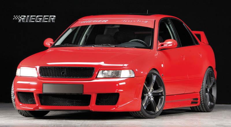 Rieger New Design Front Bumper w/ Fog Brackets Audi A4 B5 95-01 - R 55072